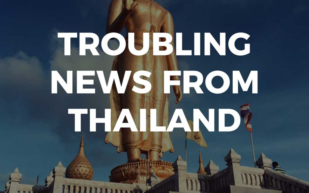 Troubling News From Thailand